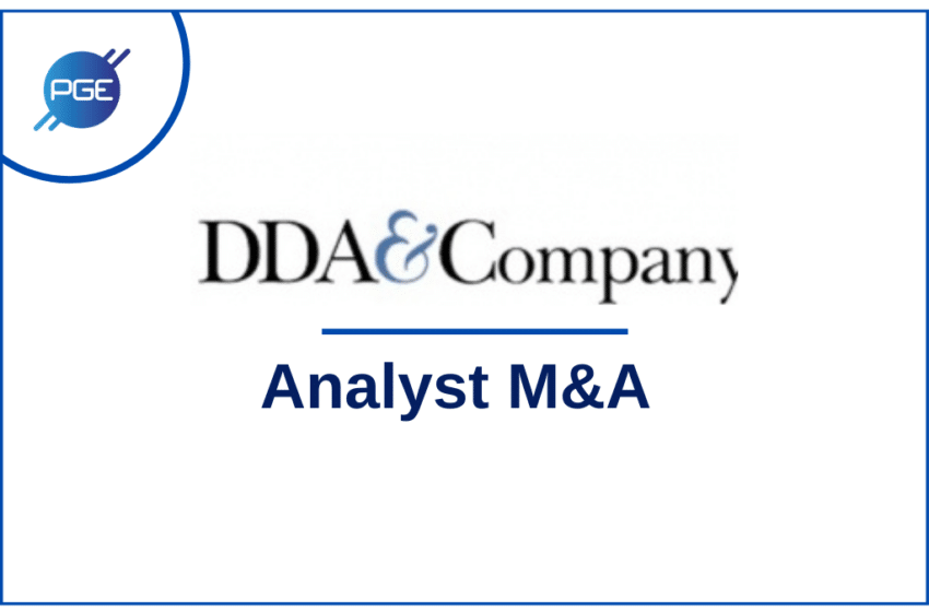 DDA & Company : Analyst M&A