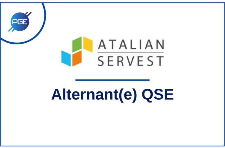 Atalian Servest : Alternant(e) QSE