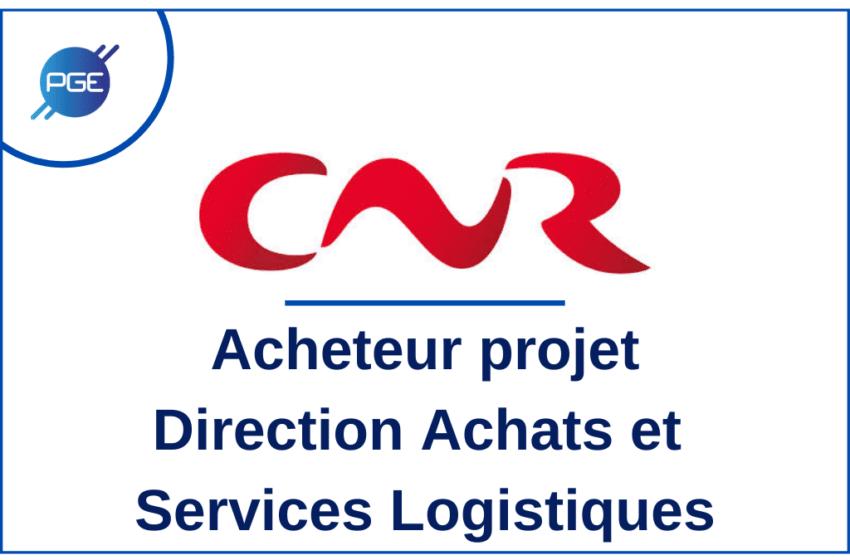 CNR : Acheteur projet – Direction Achats et Services Logistiques