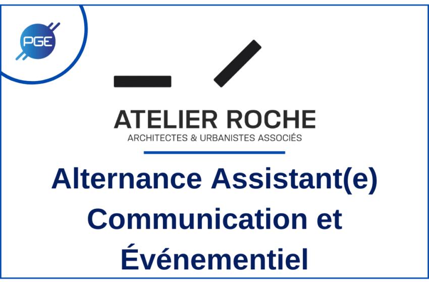 Atelier Roche : Alternance Assitant(e) Communication et Événementiel