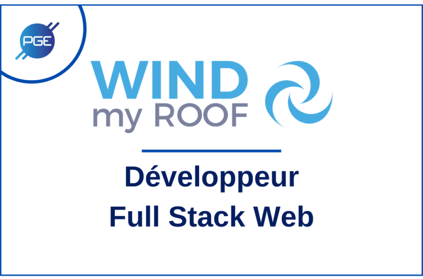 WIND my ROOF : Développeur Full Stack Web