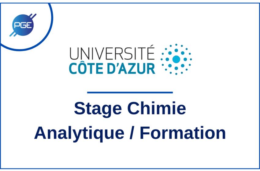 Institut de Chimie de Nice : Chimie Analytique / Formation