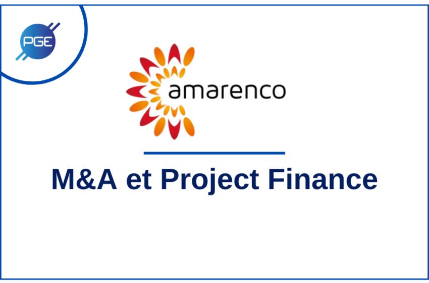 amarenco : M&A et Project Finance