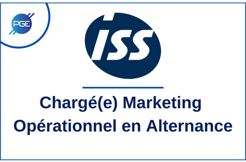ISS : Chargé(e) Marketing Opérationnel en Alternance