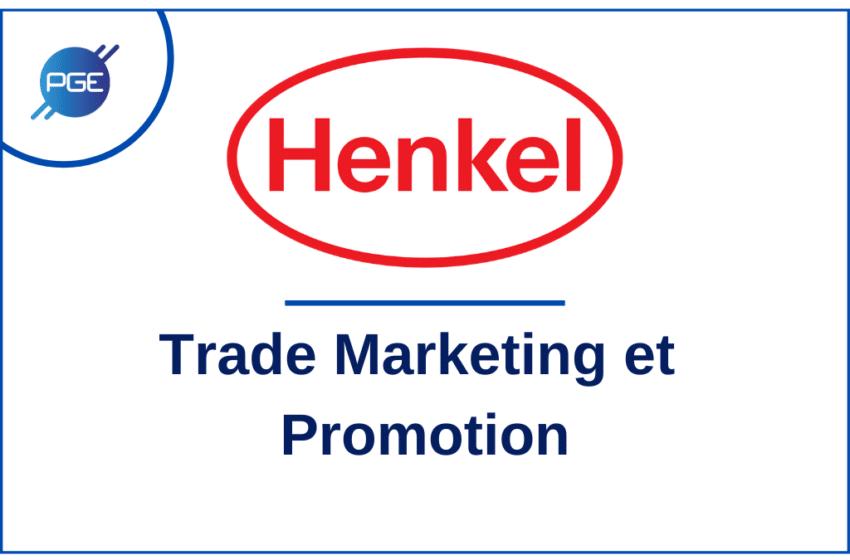 HENKEL : Trade Marketing et Promotion