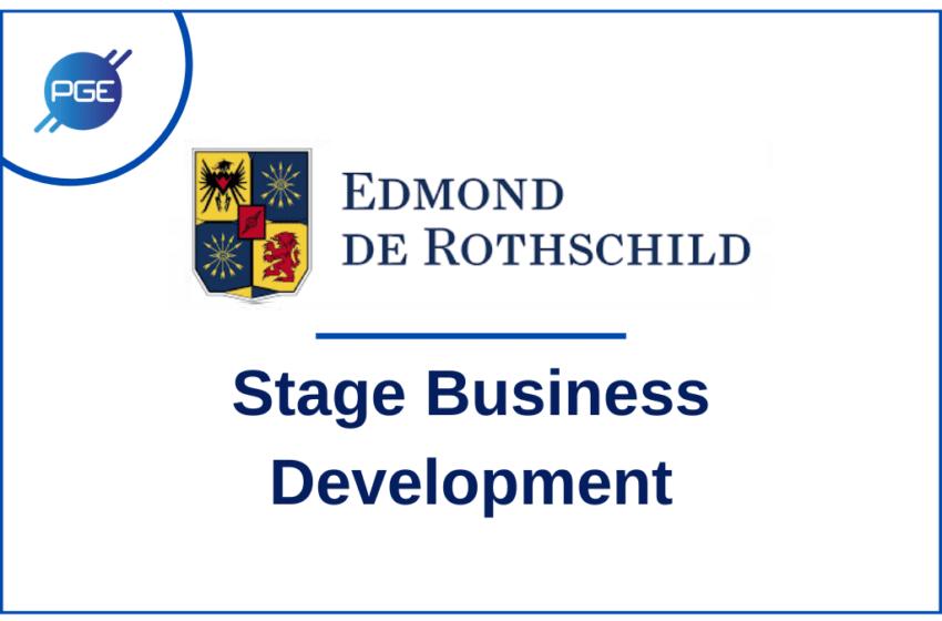 EDMOND DE ROTHSCHILD : Stage Business Development