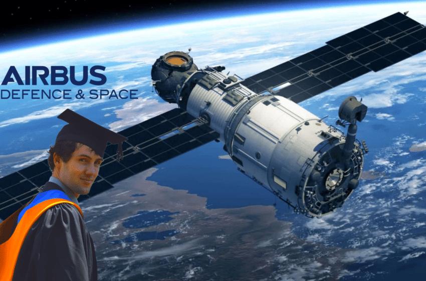 Adrien Fève – Airbus Defence&Space : Un ingénieur thermicien au service des satellites !