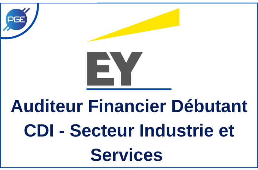 EY : Auditeur Financier Débutant CDI – Industrie/Services