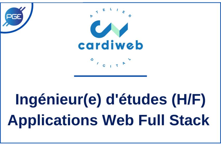 Cardiweb : Ingénieur(e) d'études – Applications Web Full Stack
