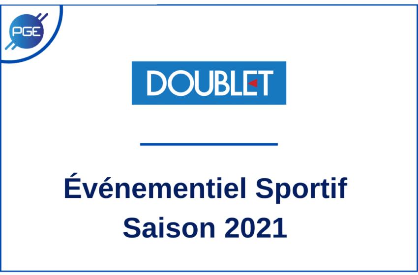 Doublet : Événementiel Sportif – Saison 2021