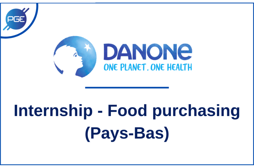 Danone : Internship – Food Purchasing