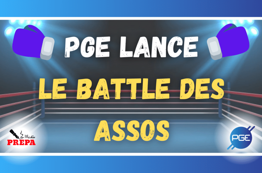 PGE LANCE LE BATTLE DES ASSOS
