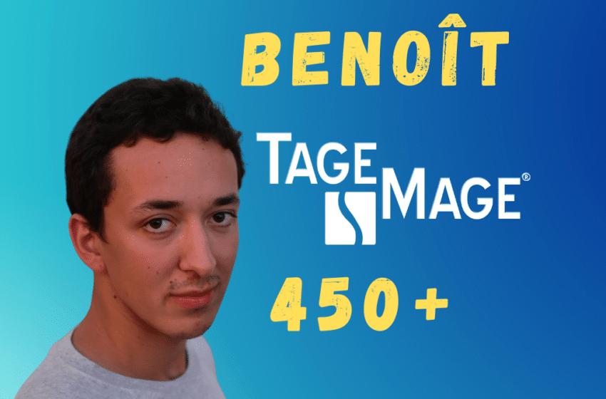 Benoît : Comment j'ai obtenu plus de 450 au TAGE MAGE