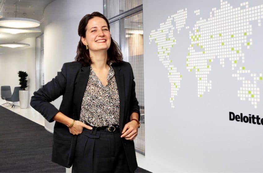 Louise PIDOUX – Consultante Junior secteur public chez Deloitte