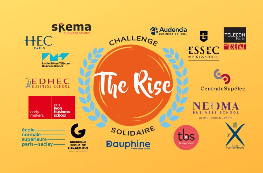 Lancement de The RISE 2020, le challenge inter-écoles de levée de prêts en microfinance !