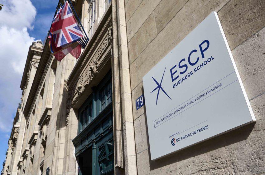 Retour partiel en présentiel du côté de l'ESCP Business School