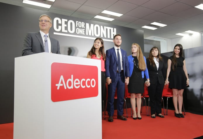 Participez à CEO for 1 month pour rencontrer les plus grands dirigeants