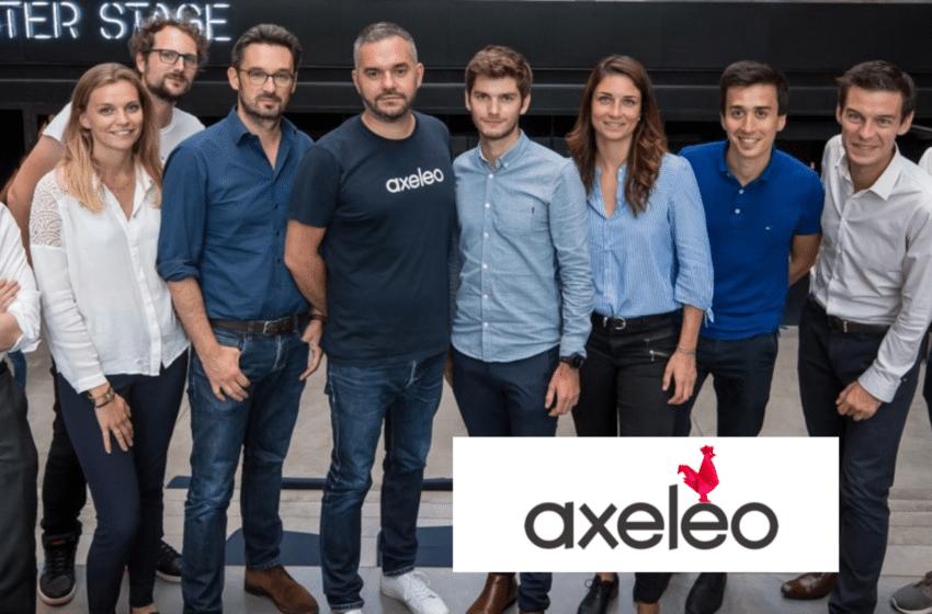 Eric Burdier – Co-fondateur & CEO de l'accélérateur et société de gestion Axeleo