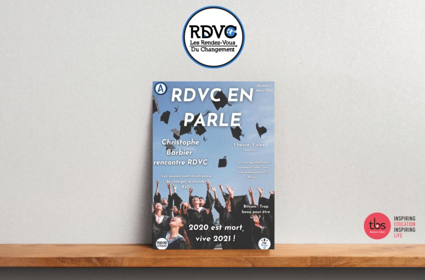 Les RDVC (TBS) lancent leur magazine «RDVC EN PARLE»