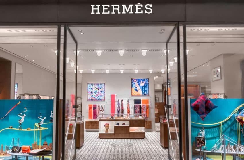 Hermès ouvre un nouveau magasin à Macao