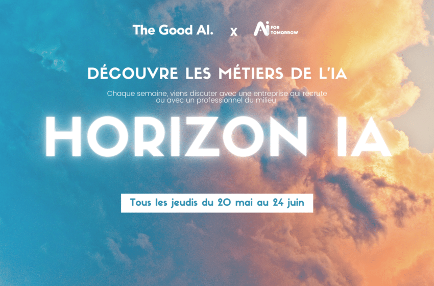 Découvrez les métiers de l'IA et de la Data avec AI For Tomorrow