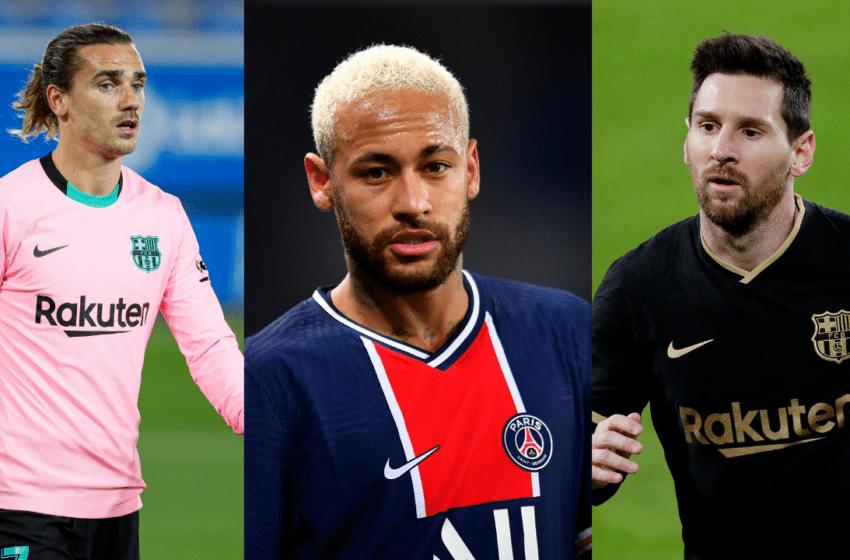 Le Top 10 des footballeurs les mieux payés en 2020