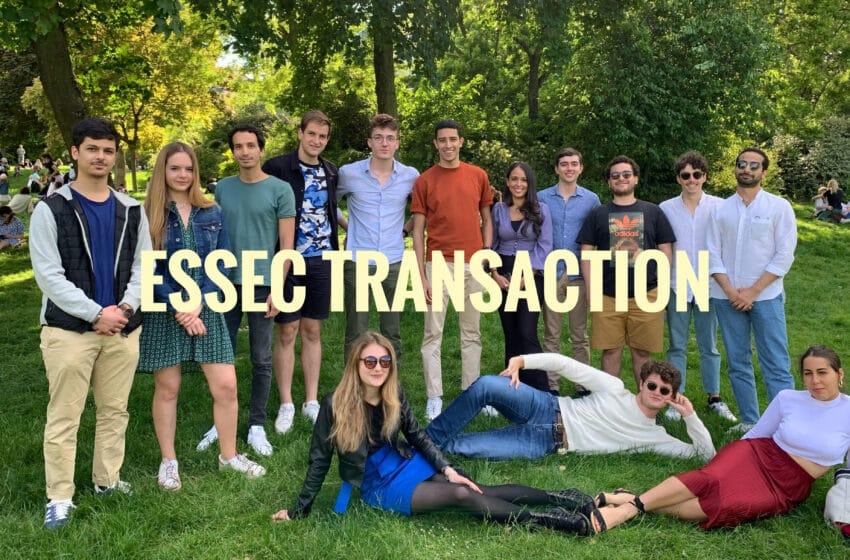 Zoom sur ESSEC Transaction, l'association de finance de l'ESSEC