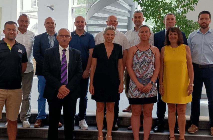 L'ESC Clermont BS signe 5 partenariats avec 5 clubs de sport de haut niveau