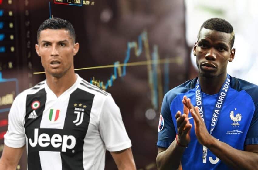 Ronaldo et Pogba font baisser les cours de Coca et Heineken