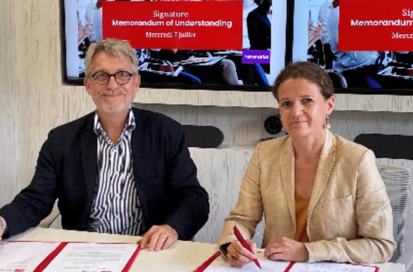 emlyon et l'École normale supérieure de Lyon signent un partenariat