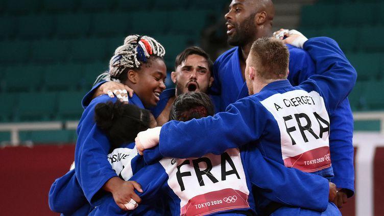 L'or pour la France en épreuve mixte de Judo par équipe