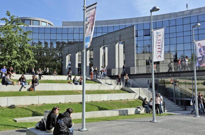 Retour sur la rentrée 2021-2022 de l'EDHEC Business School