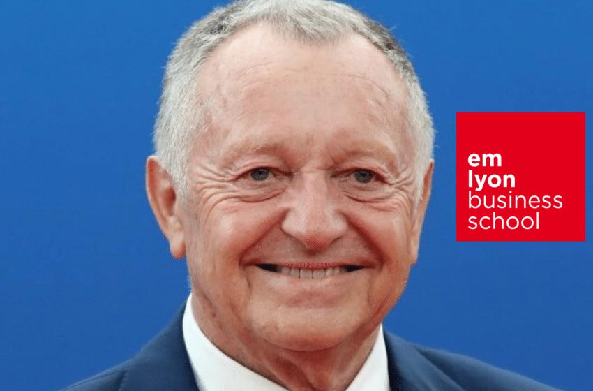Jean Michel AULAS parrain des Pré-Master d'emlyon business school