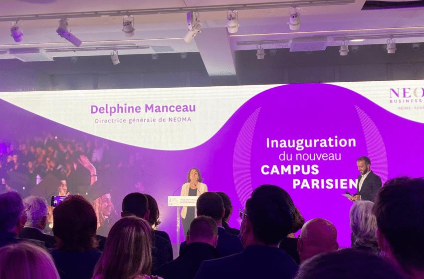 Pour ses 150 ans, Neoma lance un nouveau campus à Paris