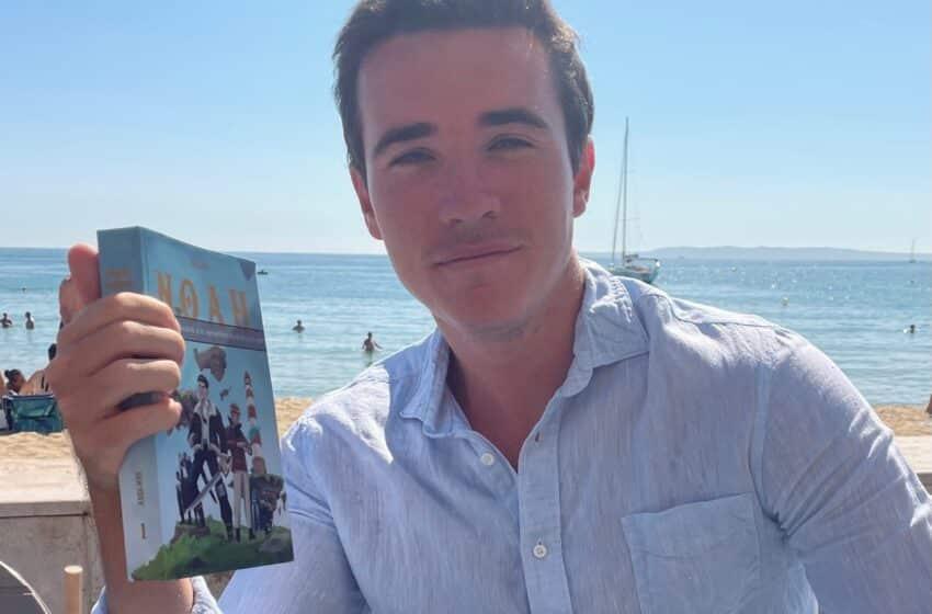 Axel, étudiant à l'ESSEC, entre politique et vie de romancier