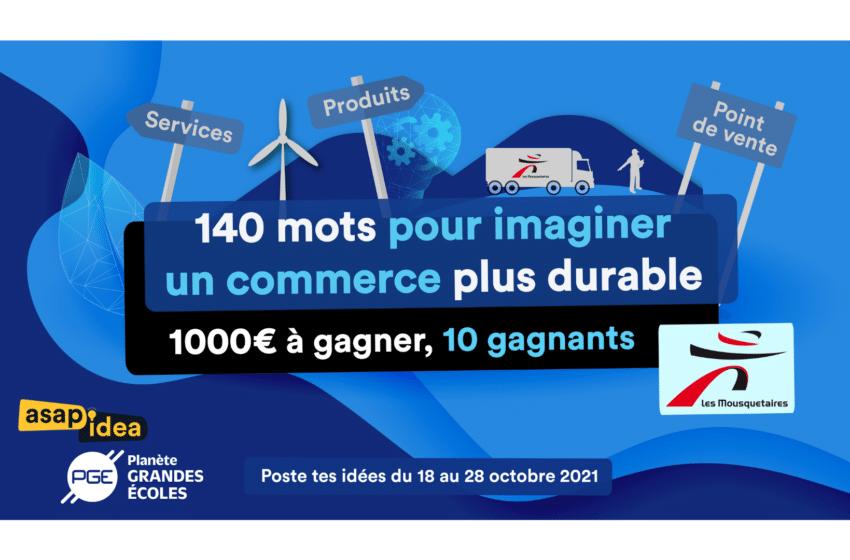 Challenge Etudiant : Gagnez 1 000€ en pensant «un commerce plus durable»